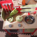 木製のミニキッチン