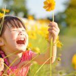 子どもとお花