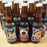 津山ビールの宇宙ラベル