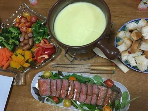 チーズフォンデュクリスマスパーティ