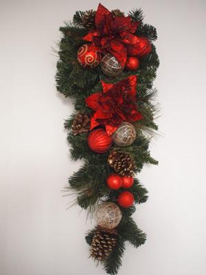 コストコの壁掛けクリスマスツリー