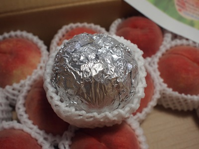天童市のてんどう桃