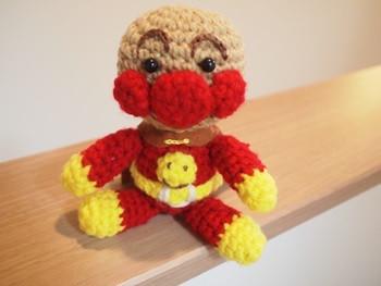手作りアンパンマン人形