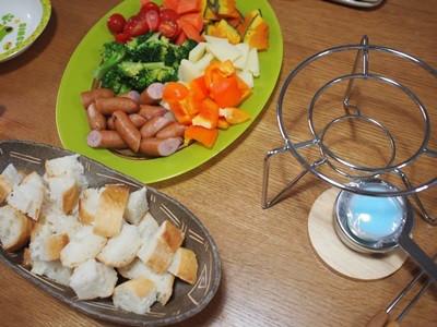 チーズフォンドゥ鍋セット