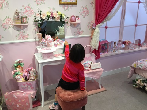 ピンクのお部屋の画像