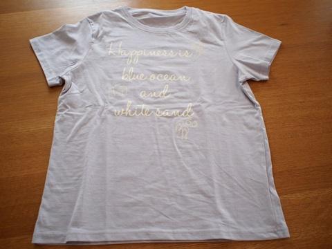 綿100%半袖プリントTシャツ