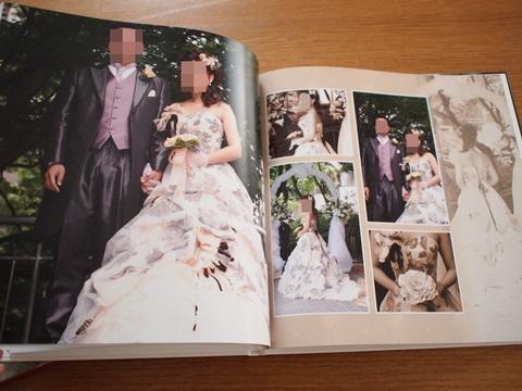 結婚式、二次会、新婚旅行をまとめてフォトブック