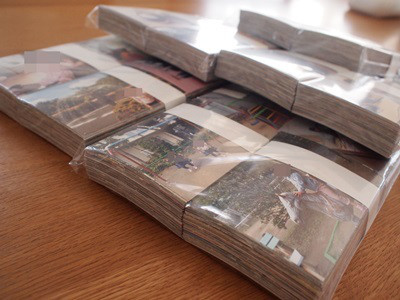 2000枚以上の写真をプリント