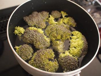ブロッコリーペーストの作り方