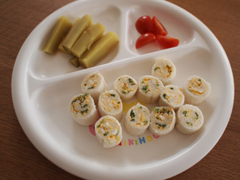 離乳食サンドウィッチの作り方