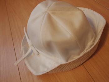 UV対策用帽子