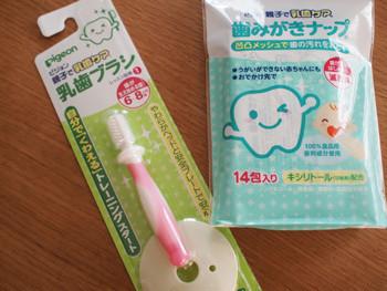 トレーニング用歯ブラシ