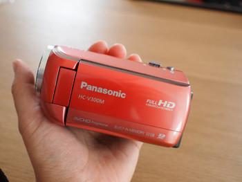 パナソニック ビデオカメラ HC-V300M-P