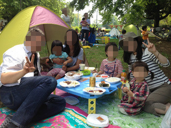 小金井公園ピクニック