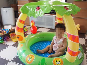 赤ちゃん用プール