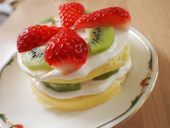 手作りケーキ