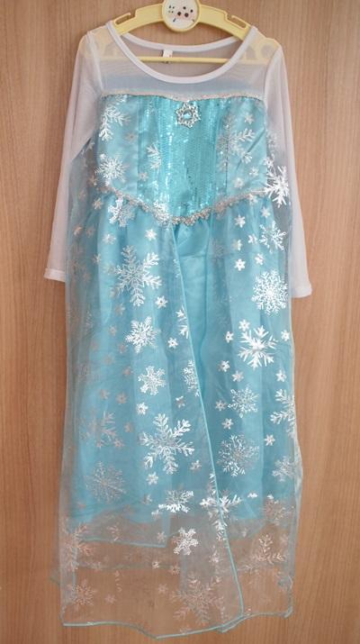 アナ雪ドレス