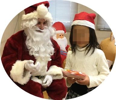 英会話教室のクリスマスパーティー