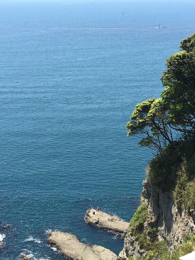 江の島頂上からの眺め