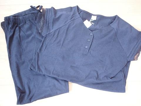 ロング丈半袖パジャマ