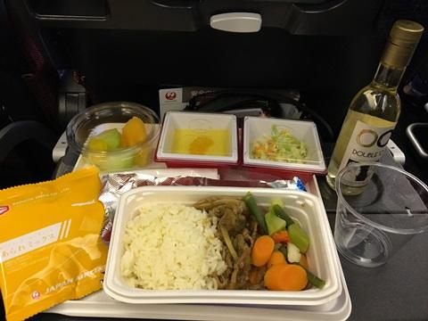 大人の機内食JAL
