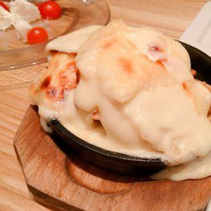 チーズたっぷりポテト