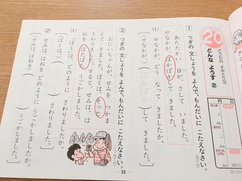 文章の読解(こくご)
