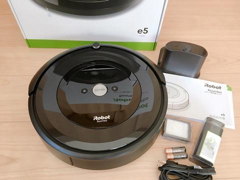 アイロボット ロボット掃除機 ルンバ e5