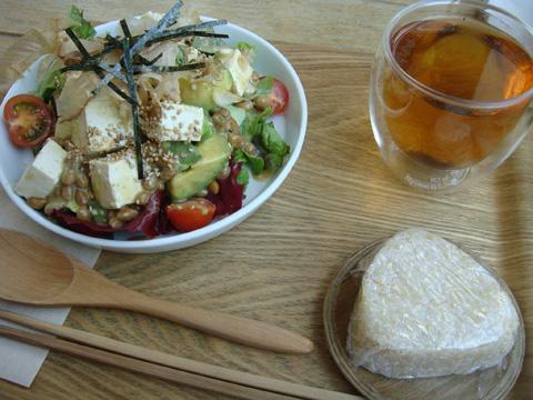 豆腐・納豆・アヴォガドの和風サラダセット
