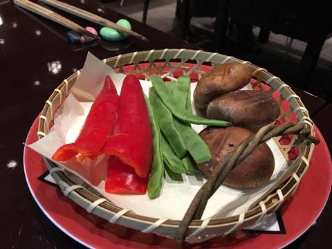 野菜の焼き物