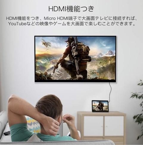 MICRO HDMI端子 (TV接続可能)