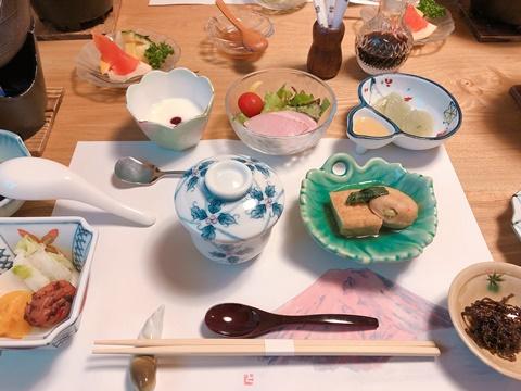 真木温泉朝食