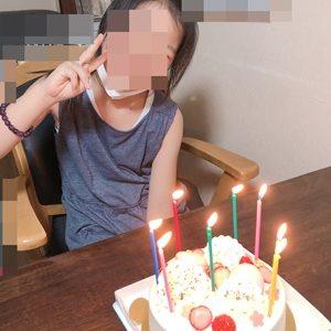 8歳のお誕生日パーティ