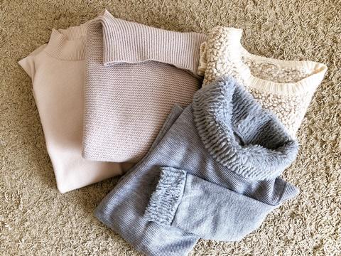 セーターの断捨離