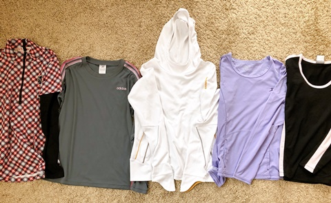 ロングTシャツの断捨離