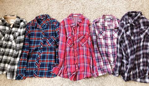 アウトドアシャツの断捨離
