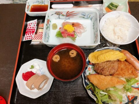 KKR江ノ島 ニュー向洋 夕食