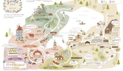 ムーミンバレーパーク地図