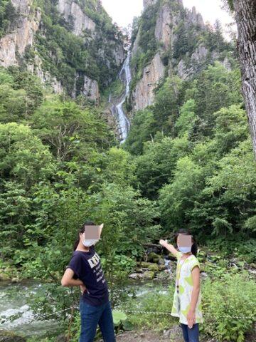 層雲峡 流星の滝