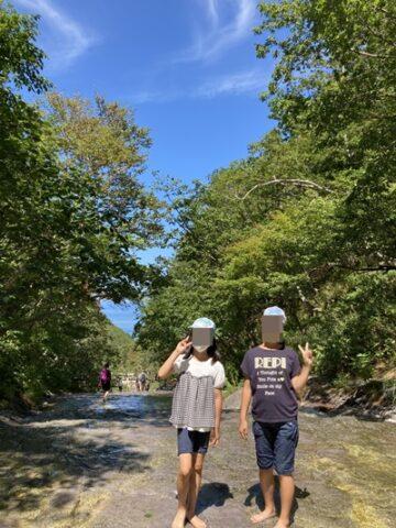 カムワッカ湯の滝